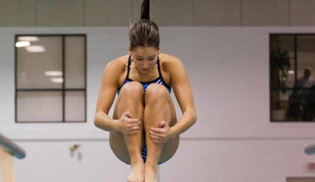 Junior Maria-Vitoria Bernardes placed 36th on the one meter and scored 203.75.