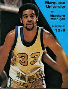 """Yonkers native Bernard Toone, seen here on a Marquette University basketball program in 1978, can be seen in an ESPN """"30 For 30"""" film."""