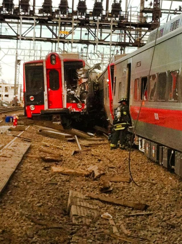 A Derby couple is suing Metro-North for $10 million as a result of a derailment near Fairfield last year.