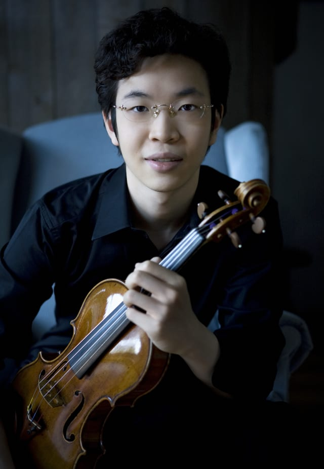 22-year-old violinist Paul Huang will perform at Sleepy Hollow High School on Saturday, April 12 at 8 p.m.