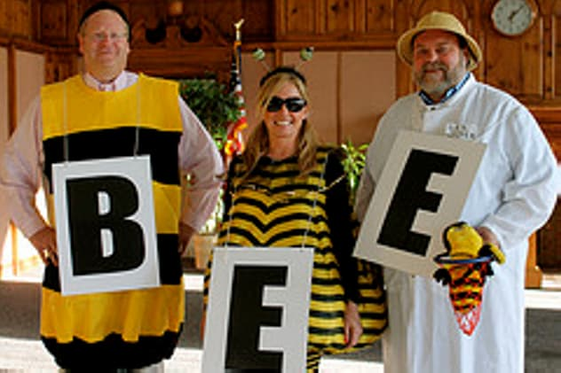 The Norwalk Education Foundation encourages teams to dress up for the annual community spelling bee and fundraiser.