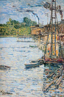 "The Bruce Museum is set to open ""Pasture to Pond: Connecticut Impressionism"" on March 22."