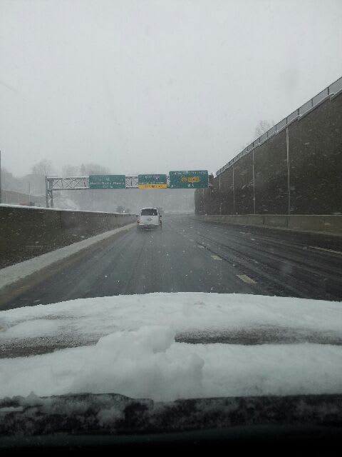 Drive carefully with sleet and rain in the forecast for Wednesday evening in Fairfield County.
