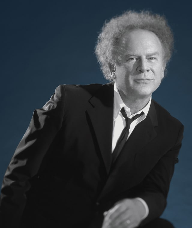 Singer Art Garfunkel recently performed at the Harvey School in Katonah.