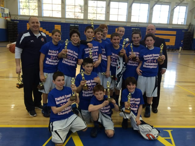 The New Castle sixth-grade boys team took home the trophy.