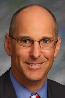 Greenwich High School headmaster Christopher Winters is the 2014 Administrator of the Year.