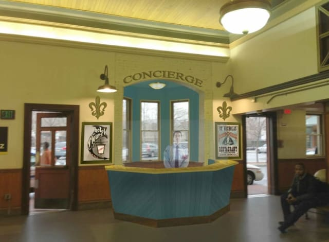 The City of New Rochelle plans to build a concierge desk at the Metro-North train station this spring.