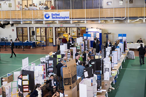 The Connecticut Science and Engineering Fair was held at Quinnipac University.