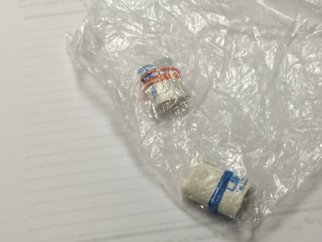 Two bundles equaling 5.8 grams of heroin was recently seized in a traffic stop by the Fairfield Police Department.