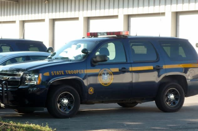 New York State Police charged a Cortlandt man with shoplifting from Kohl's on Friday, March 21.
