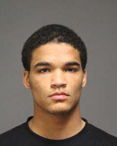 Pharoah Eaton, 18, of Fairfield, was charged police with possession of weapons in a motor vehicle and was released on a written promise to appear in court on April 7.
