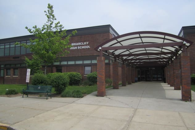 Vestibules will be added to the entrance of each of Briarcliff's three schools to increase security.