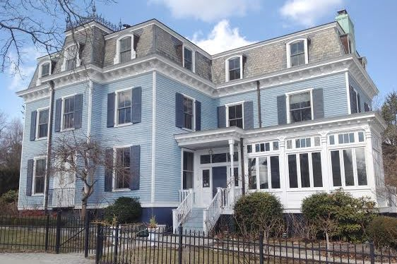 Haigh Cottage, a 6-bedroom French Second Empire Victorian, has come on the market in Larchmont.