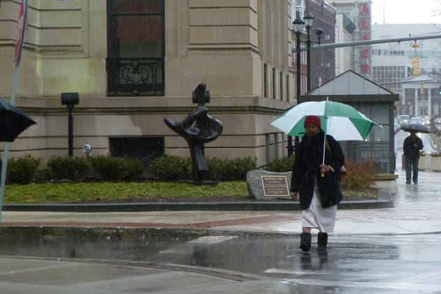 Grab your umbrella -- rain is in the forecast for the entire weekend in Fairfield County.