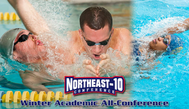 The Northeast-10 Winter Academic All-Conference selected three Pace University swimmers to be a part of the team.