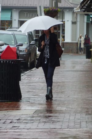 Fairfield County could see more than an inch of rain this weekend - but at least you don't have to shovel rain.