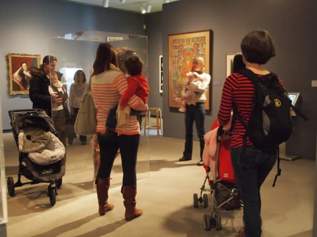 """The Katonah Museum of Art """"Before Hours"""" tours begin on Friday."""