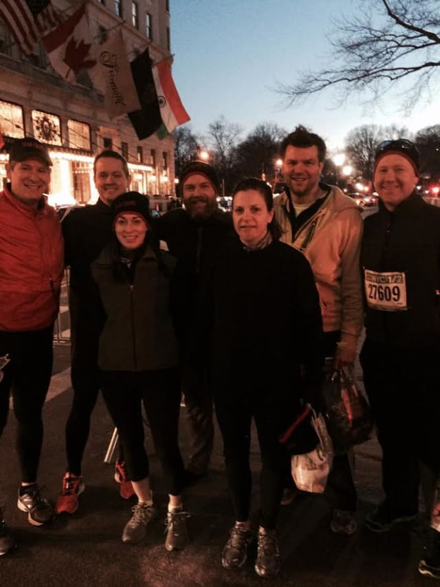 Eight Chapel ambassadors for the arts raised $10,000 in the New York Road Runners Half Marathon in New York City.