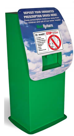 The Scarsdale Police Department recently added a prescription drug disposal unit at police headquarters.