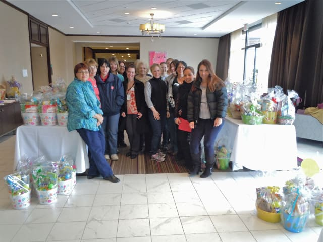 Volunteer Center staff and volunteers helped to distribute more than 1,200 Spring Buddy Baskets to preschool and early elementary aged children from low-income families across the greater Danbury area in 2013.