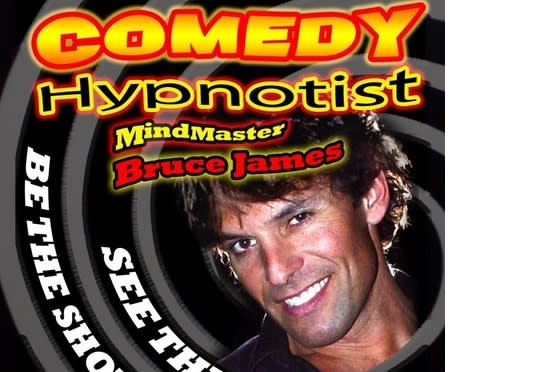 Mind Master Bruce James will bring his hypnosis show to Weston High School on Friday, April 25.