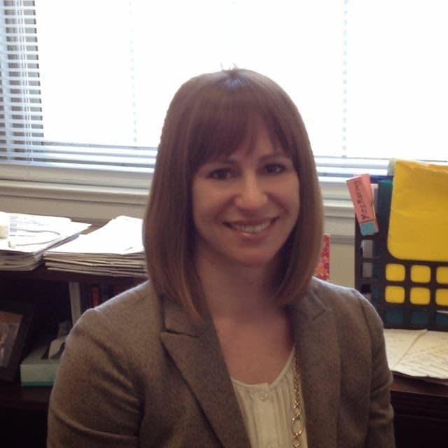 New Bronxville Elementary School Principal Patricia Murray.