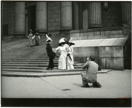 """The field trip will view the """"Bill Cunningham: Facades"""" photography exhibit."""