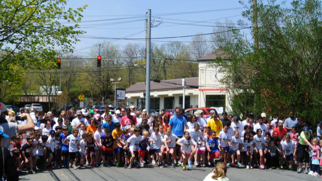 Runners in the Rye Derby can choose between a 5K race and a 5 mile race,
