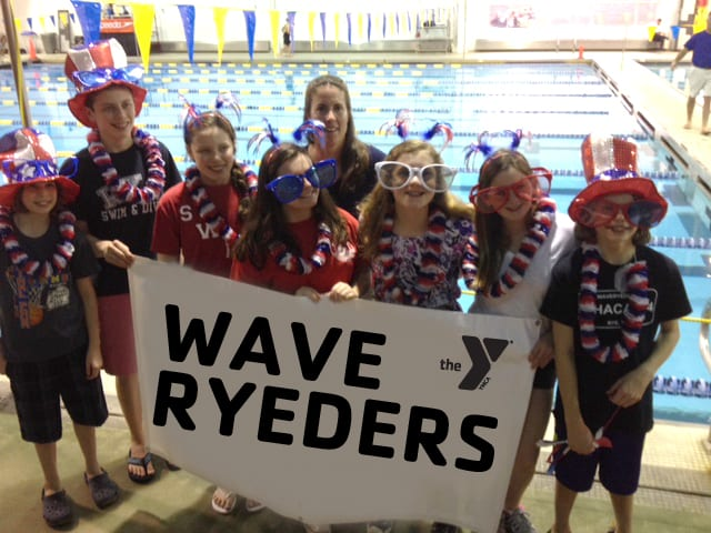 The Wave Ryeders show their team spirit at the USA League Sunkissed Invitational Junior-Senior Championship in Charlotte, N.C.