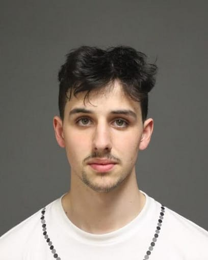 Robert Flanagan, 20 of West Haven, was charged by Fairfield police with possession of drug paraphernalia, possession of narcotics, possession of alcohol by a minor and possession of less than five ounces of marijuana.