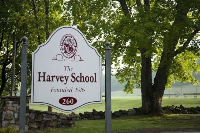 The Harvey School's boys tennis team defeated Storm King on Saturday, April 12.