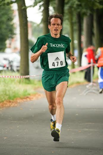 John Reumann is running his second straight Boston Marathon.