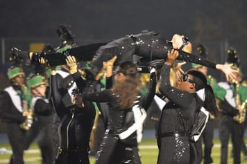 The Norwalk High School marching band took home second place in a recent national competition.