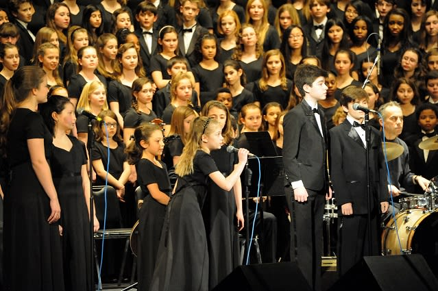 The Fairfield County Children's Choir is a community choral program made up of four choirs for youth in grades 4 to 12.