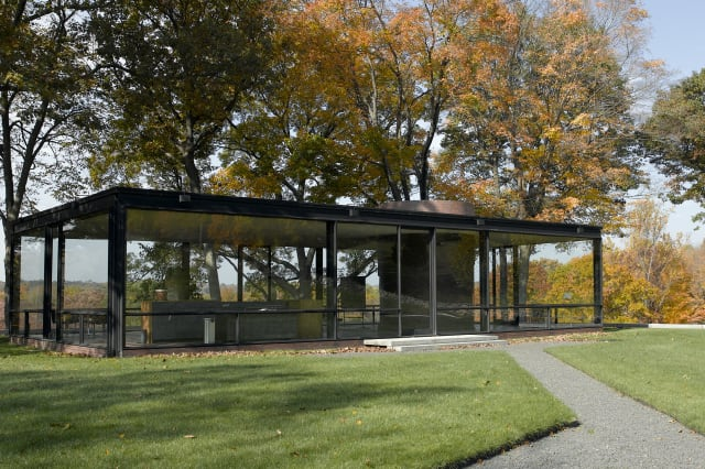 The Glass House in New Canaan will now offer self-guided tours.