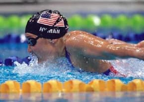 Olympic gold-medalist Misty Hyman and master coach Bob Gillett will host a three-day swimming clinic at the Wilton Family Y starting Monday, May 5.
