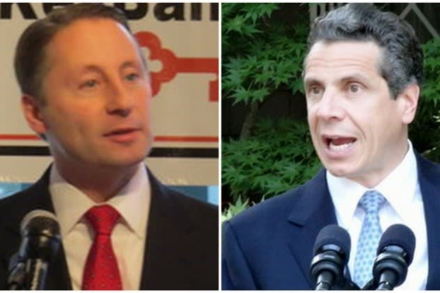 Governor Andrew Cumo still enjoys a large advantage over Rob Astorino, according to a Siena College poll.
