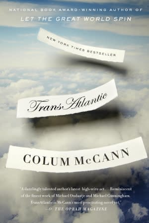 """TransAtlantic"" author Colum McCann will be at the Darien Library on May 21 to discuss his book."