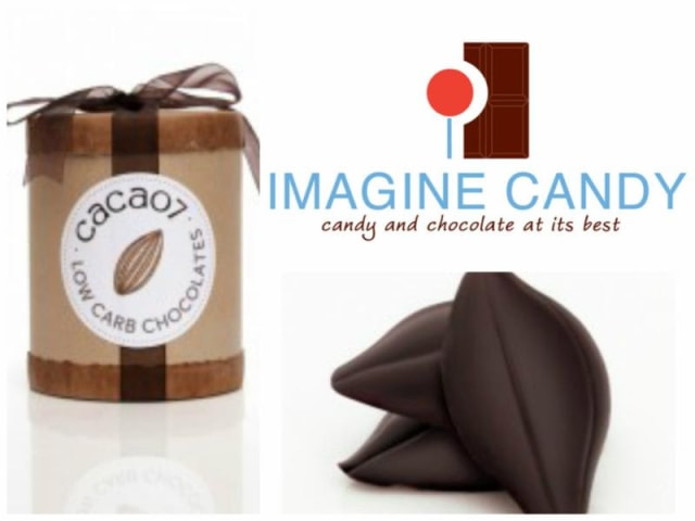 Cacao7's Skinny organic and fair trade chocolates are now available at Imagine Candy in Scarsdale.