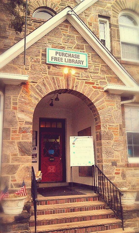 The Purchase Free Library is turning to the community to save its space in the Purchase Community House.