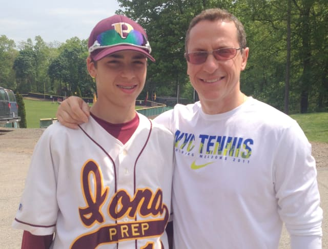 Angelo Mancino said he sends his son, Matthew, to Iona Prep because he favors the smaller class sizes.
