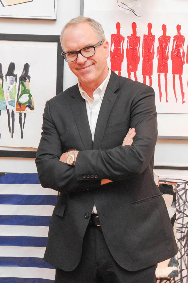 Donald Robertson is the creative director for special projects at Este Lauder Corp in Manhattan.