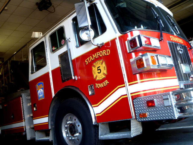 Stamford crews responded to a call for a generator fire at UBS on Washington Boulevard.