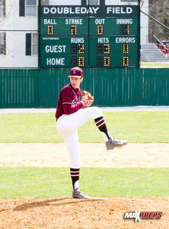 The Scarsdale High School varsity baseball team played on the legendary Doubleday Field in Cooperstown in April.