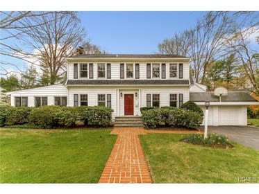 This house at 17 Woodland Drive in Rye Brook is open for viewing on Sunday.