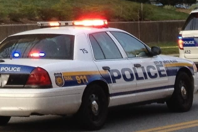 White Plains police are searching for a man who claimed to have a bomb in his briefcase.