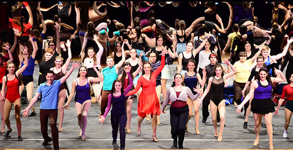 """The Harrison High School Footlight Players staged the spring production of """"A Chorus Line."""""""