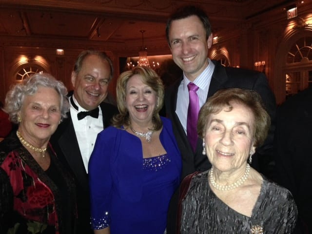 Caramoor's Director of Opera Will Crutchfield was honored with the Distinguished Achievement Award at Career Bridges' 12th annual gala.