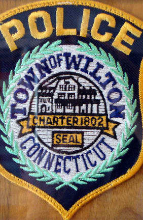 Wilton Police make an arrest of store employee illegally using a credit card.