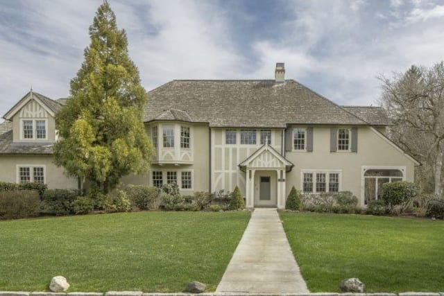 The former home of architect Harry Leslie Walker has come on the market in Bronxville and is listed by Julia B. Fee Sotheby's International Realty.